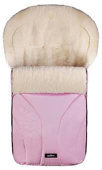 Зимний конверт Womar (Zaffiro) №25 с вышивкой розовый Польша