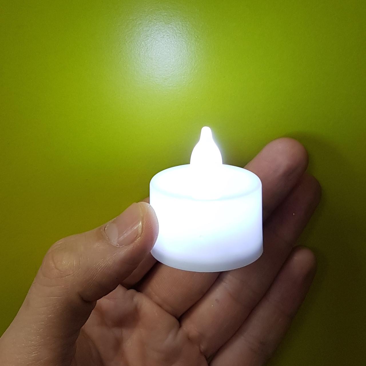 Свечи Led белые