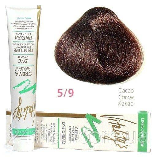 Vitality's Collection - Крем-фарба з трав'яними екстрактами 5/9 (какао)