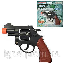 Пистолет 2074P (96шт) на пистонах, 13см, на листе, 18-19-3см