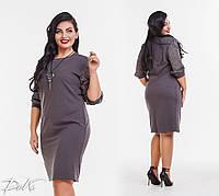 Женское стильное платье  ДГд41152 (бат), фото 1