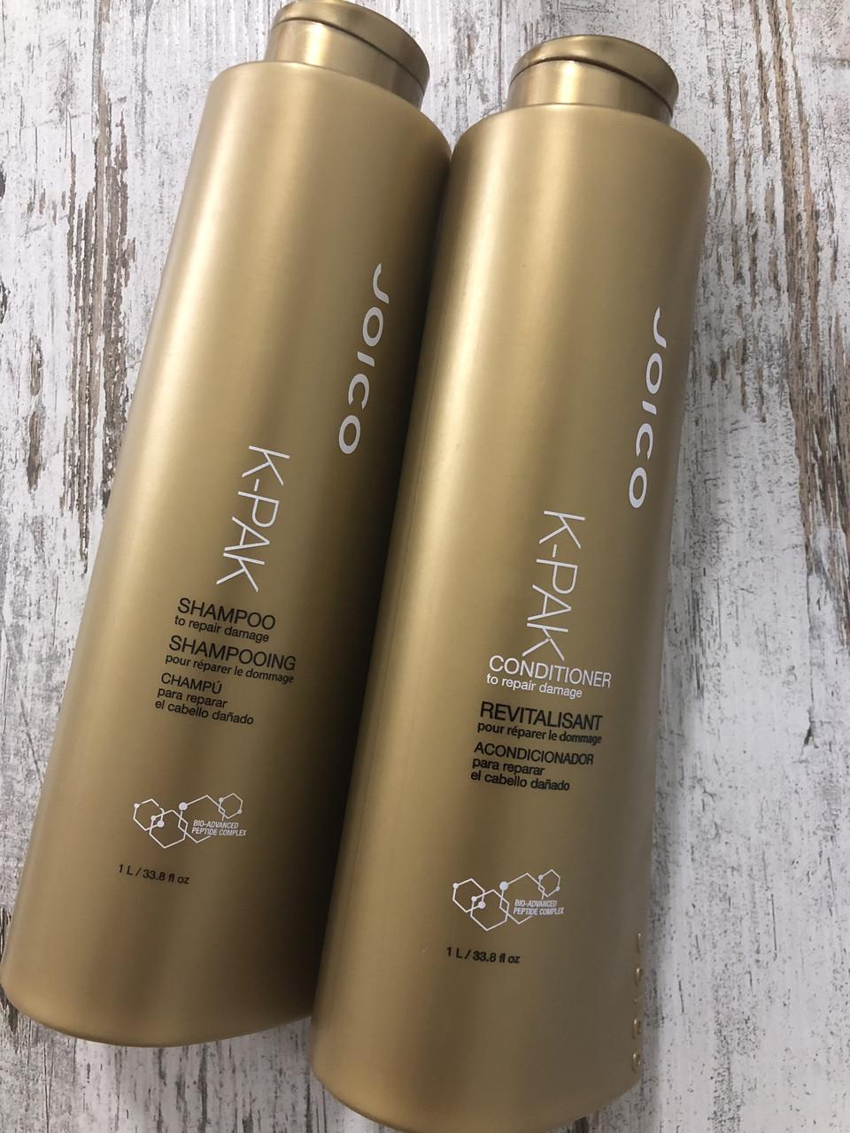 Шампунь и кондиционер для восстановления поврежденных волос Joico K-Pak, по 50мл