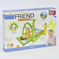 Музичний ігровий килимок для немовлят «Тропічний ліс»