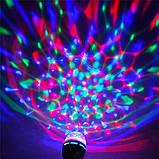 Светодиодная Диско лампа LED вращающаяся , фото 3