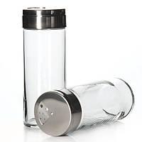 Набор емкостей стеклянных для специй с железной крышкой Pasabahce 240мл. 2шт (43890)