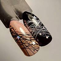 Гель паутинка, Spider gel -5мл -черная