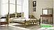 Металлическая кровать Жозефина на деревянных ножках ТМ «Металл-Дизайн», фото 3