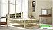 Металлическая кровать Жозефина на деревянных ножках ТМ «Металл-Дизайн», фото 4