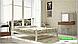 Металлическая кровать Жозефина на деревянных ножках ТМ «Металл-Дизайн», фото 5