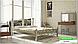 Металлическая кровать Жозефина на деревянных ножках ТМ «Металл-Дизайн», фото 7