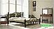 Металлическая кровать Жозефина на деревянных ножках ТМ «Металл-Дизайн», фото 8