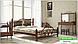 Металлическая кровать Жозефина на деревянных ножках ТМ «Металл-Дизайн», фото 10