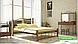 Металлическая кровать Кассандра на деревянных ножках ТМ «Металл-Дизайн», фото 3