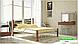 Металлическая кровать Кассандра на деревянных ножках ТМ «Металл-Дизайн», фото 5