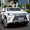 Детский электромобиль Lexus M 3906(MP4) EBLR-1: 140W, EVA, 2.4G, 7 км/ч - Белый -купить оптом