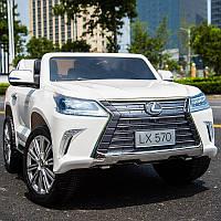 Детский электромобиль Lexus M 3906(MP4) EBLR-1: 140W, EVA, 2.4G, 7 км/ч - Белый -купить оптом , фото 1