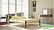 Металлическая кровать Кассандра на деревянных ножках ТМ «Металл-Дизайн», фото 9