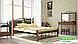 Металлическая кровать Кассандра на деревянных ножках ТМ «Металл-Дизайн», фото 10