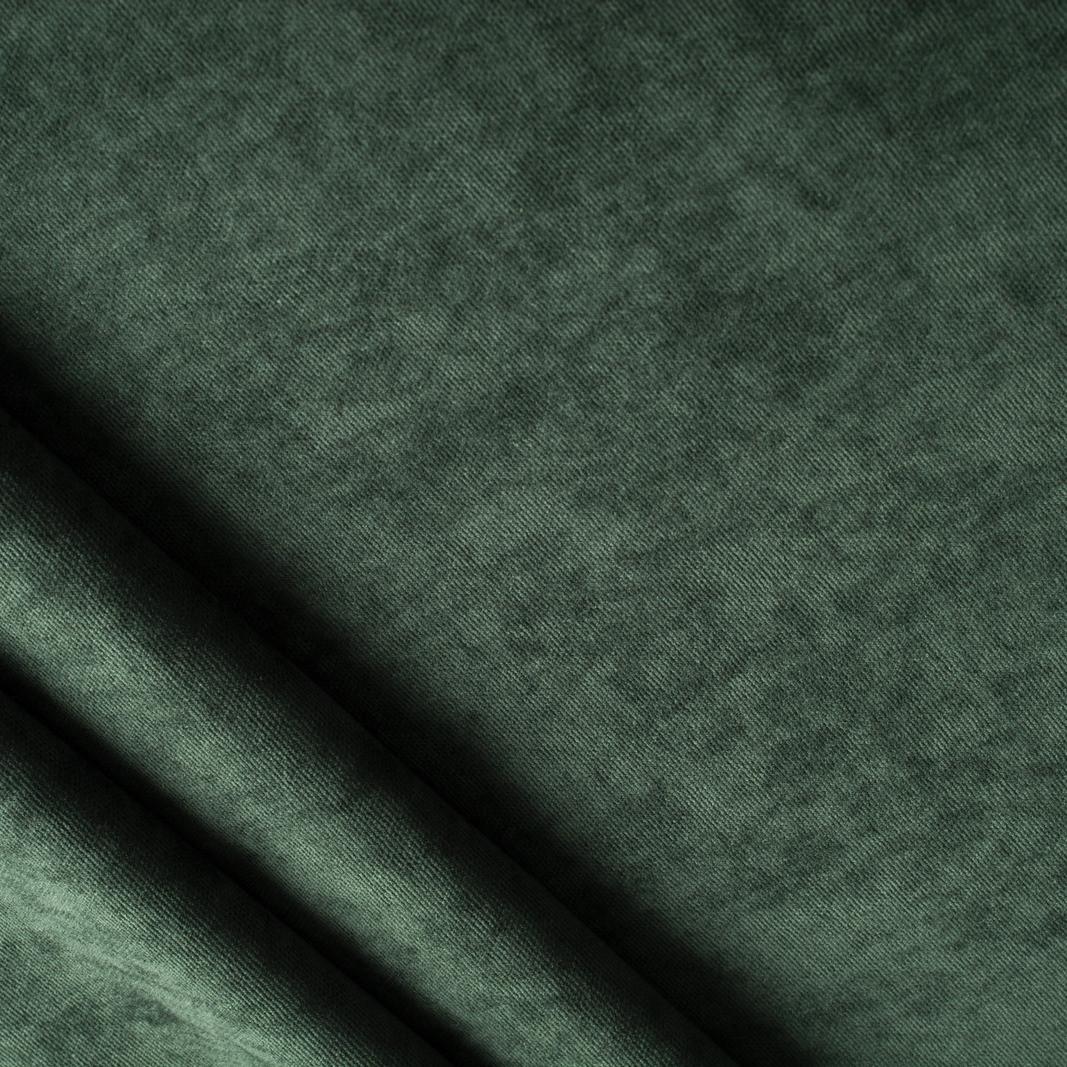 Ткань для штор темно-зеленая Dream