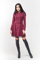 Эксклюзивное тёплое и демисезонное платье Селеста ЛПС 1581