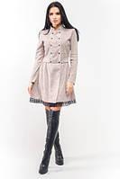 Эксклюзивное тёплое и демисезонное платье Селеста ЛПС 1583, фото 1