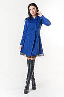 Эксклюзивное тёплое и демисезонное платье Селеста ЛПС 1586