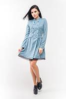 Эксклюзивное тёплое и демисезонное платье Селеста ЛПС 1582