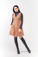 Эксклюзивное тёплое и демисезонное платье Брунэ ЛСБ 1501
