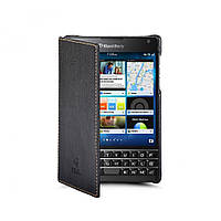 Чехол книжка Stenk Premium для BlackBerry Passport Чёрный (11355), фото 1