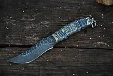 """Нож охотничий ручной работы """"Вожак"""", дамасск (наличие уточняйте)"""