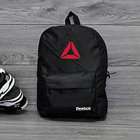 Рюкзак стильный, спортивный (городской) Черный Reebok (Рибок)