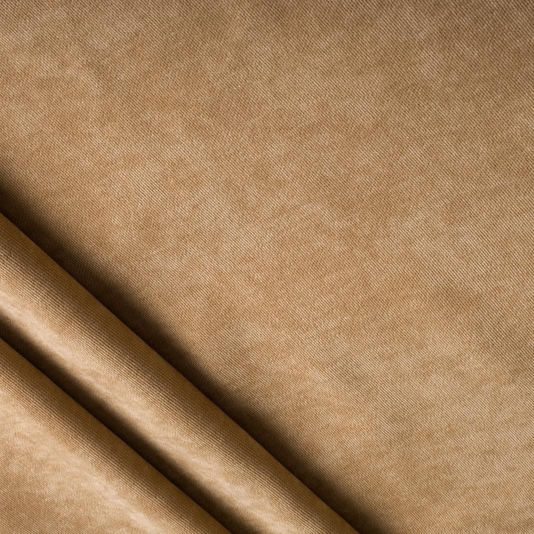 Ткань для штор песочно-коричневая Dream