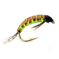 Нимфа-Мухи Strike CN14-12 Woven Polish Nymph Brown-Olive