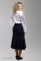 Женская синяя юбка годе больших размеров (2006 svt), фото 3