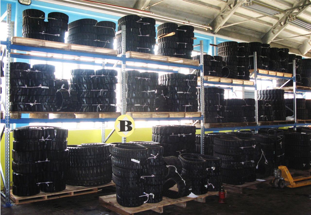 Резиновые гусеницы (гусениці, траки) для экскаваторов JCB, CAT, Kubota, Yanmar, Takeuchi, Bobcat, Terex, Volvo