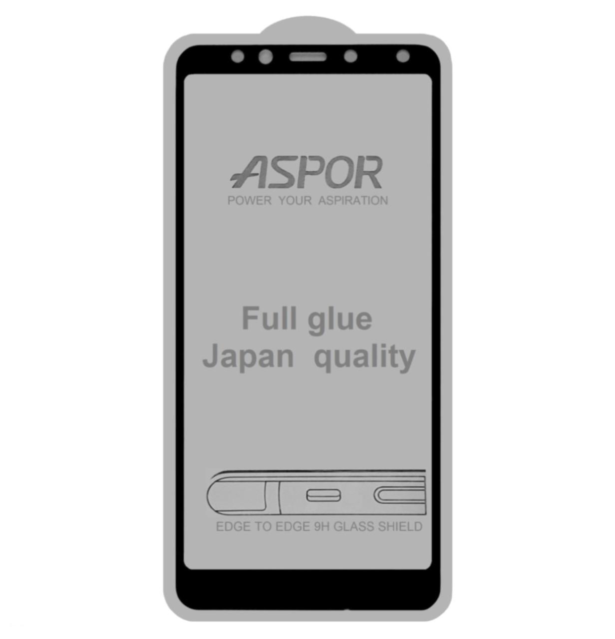 Защитное стекло 5D Full Glue ASPOR для Xiaomi Redmi 5 Black (Screen Protector 0,3 мм)