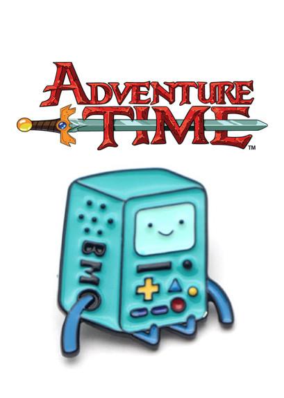 Пин значок БиМО Время приключений Adventure time