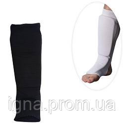 Защита MS 0674 S (25шт) для борьбы,эластичн,для ног,голень+стопа,размS,43-13см,2цв,в кул,13-28-6см
