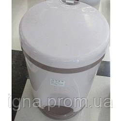 Ведро мусорное пластик 15л 24*35см R85418 (12шт)
