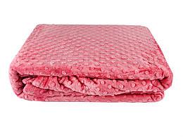 Покривало-плед HOBBY TOMURCUK т.розовый 200х220
