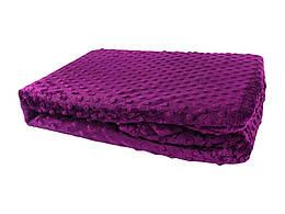 Покривало-плед HOBBY TOMURCUK фиолетовый 150х220
