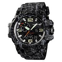 • Гарантия! Skmei(Скмей) 1155 HAMLET New  Тактические мужские часы!