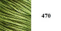 Шелковое мулине 470 Sunny Silk (Южная Корея)