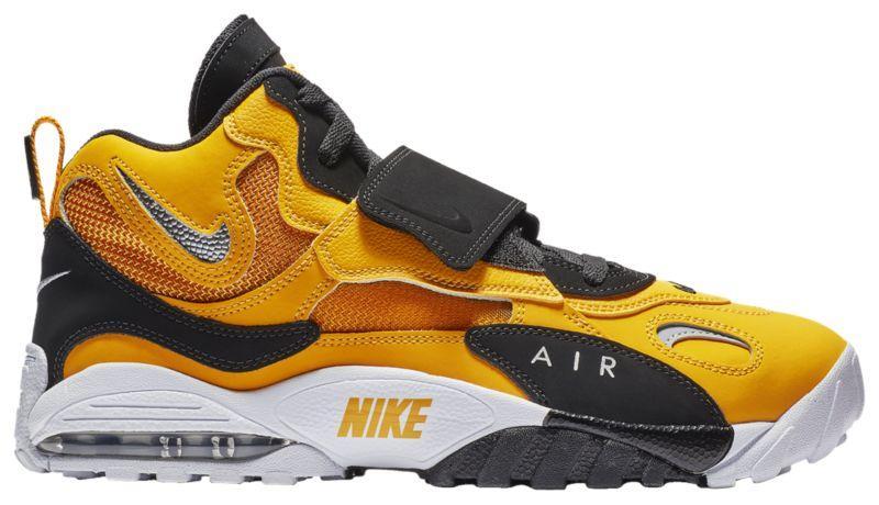 Кроссовки Кеды (Оригинал) Nike Air Max Speed Turf University Gold Metallic  Silver f499409befed2