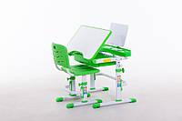 Комплект Парта и стул-трансформеры Funkids M7038 Green+Подставка для книг!
