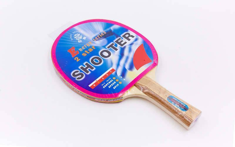 Ракетка для настільного тенісу 1 штука GIANT DRAGON ENERGY SERIES( деревина, гума)
