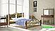 Металлическая кровать Франческа на деревянных ножках ТМ «Металл-Дизайн», фото 3