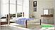 Металлическая кровать Франческа на деревянных ножках ТМ «Металл-Дизайн», фото 5