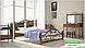 Металлическая кровать Франческа на деревянных ножках ТМ «Металл-Дизайн», фото 7