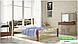 Металлическая кровать Франческа на деревянных ножках ТМ «Металл-Дизайн», фото 8